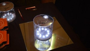 Luci Solar Powered Inflatable Lantern