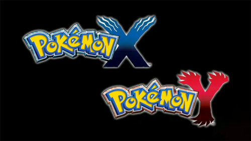 Pokémon X and Y logos image 1