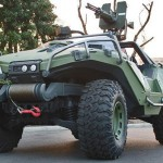 Real Life Halo Warthog Vehicle Developed by 343 Industries
