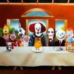 Scary CLowns Last Supper