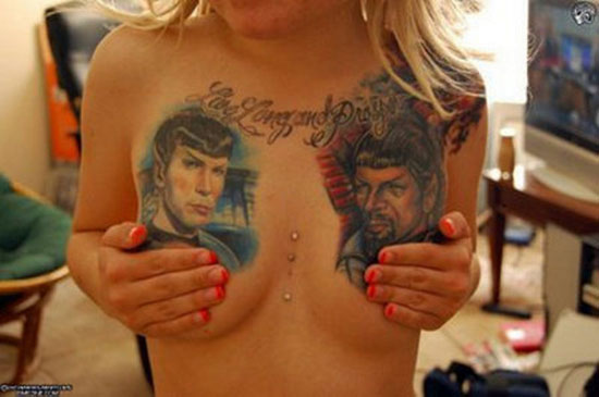 Spock Tattoo