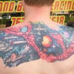 Star Trek Universe Tattoo