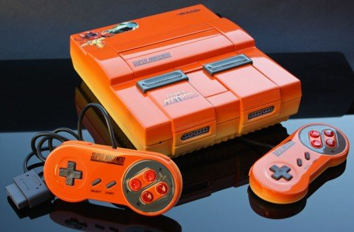Super Metroid Super Nintendo orange by Zoki64 image