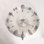 The Star Wars Starships and Fighters Clock