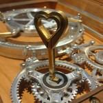 heart keys in jewelry box lock 2