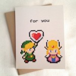 A piece of my heart, Zelda love card by LimeGreenGaming image