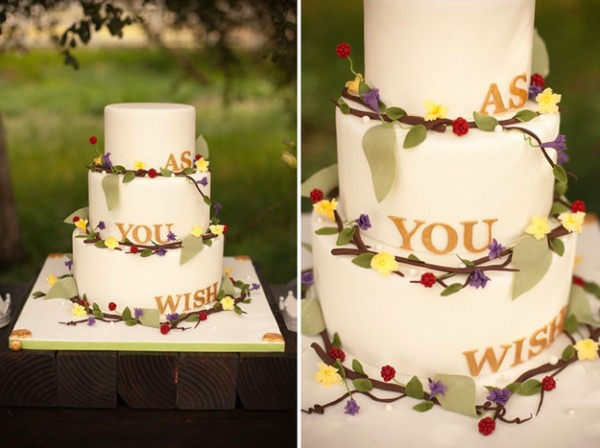 As you wish cake