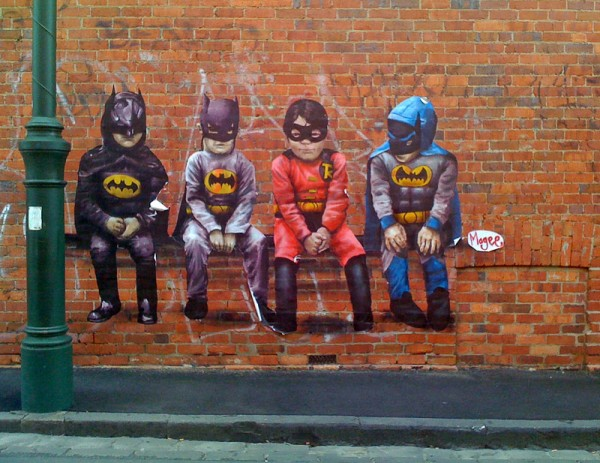 Batmen Graffiti