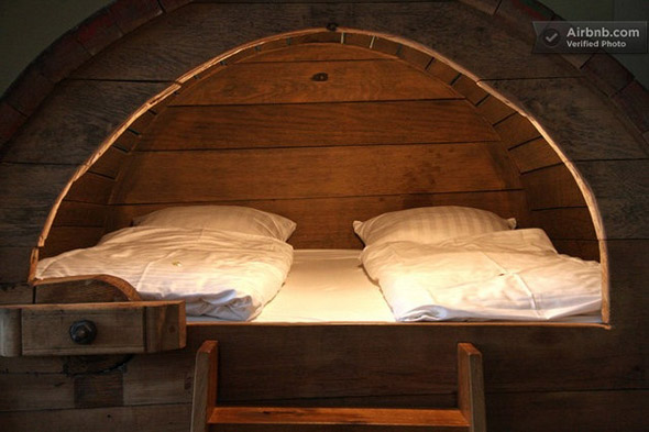 Beer Barrel Bedroom 1