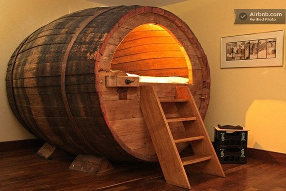 Beer Barrel Bedroom