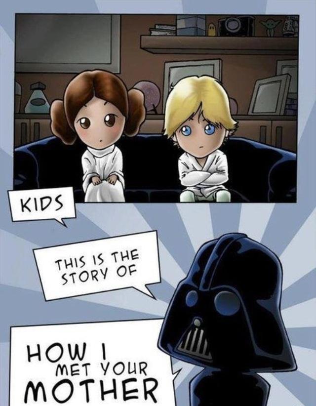 Darth Vader & Kids