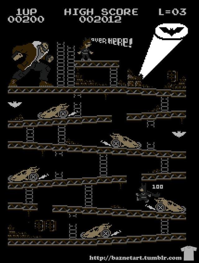 Donkey Kong Batman