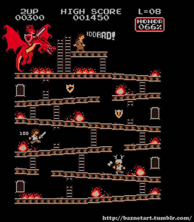Donkey Kong Game of Thrones