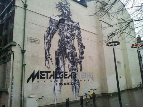 Metal Gear Rising Revengeance Murals In Liverpool image 1 by Jamie Winstanley