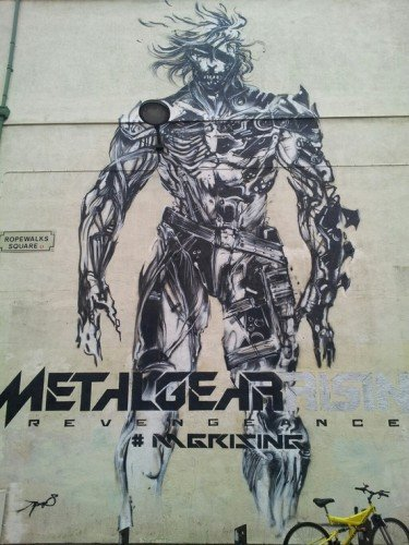 Metal Gear Rising Revengeance Murals In Liverpool image 2 by Jamie Winstanley