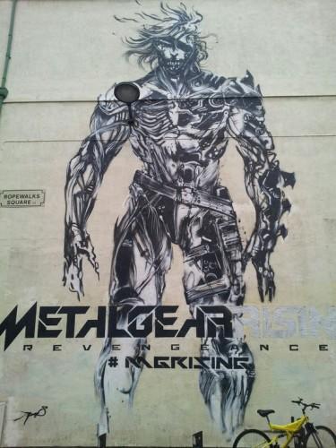Metal Gear Rising Revengeance Murals In Liverpool image 1 by Jamie Winstanley