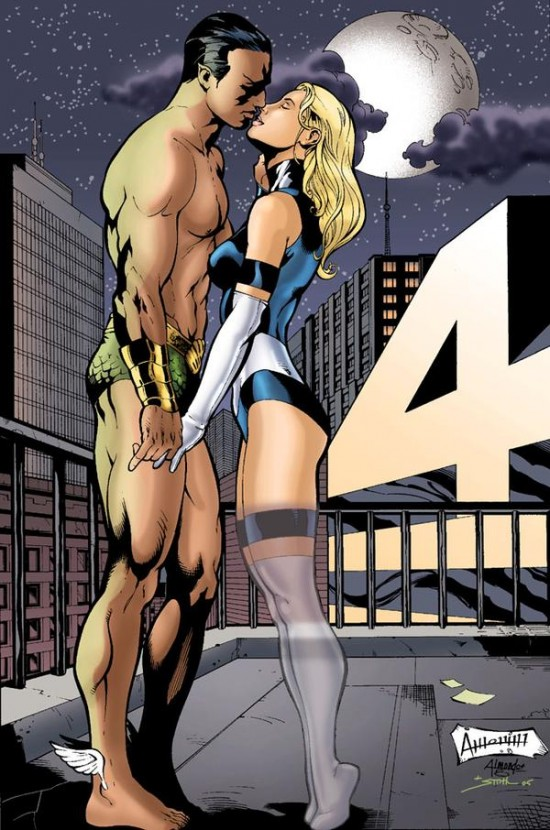 Namor & Sue Richards
