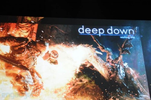 PlayStation 4 Capcom Deep Down announcement image
