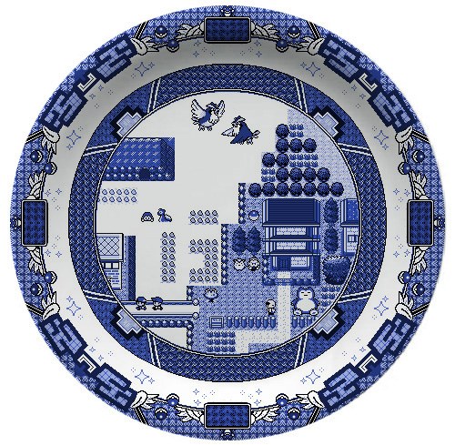 Pokemon Plate by Olly Moss