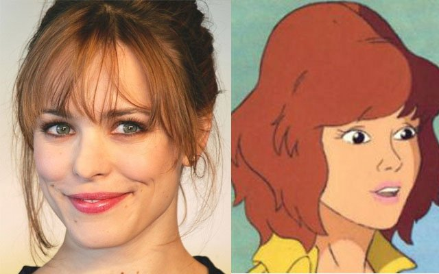Rachel McAdams as April O'Neil Alternative