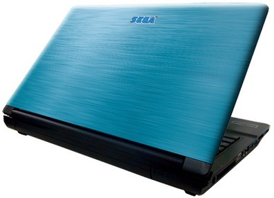 Sega Blue notebook image