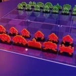Space Invaders Chess Set by NMI Laser image 2