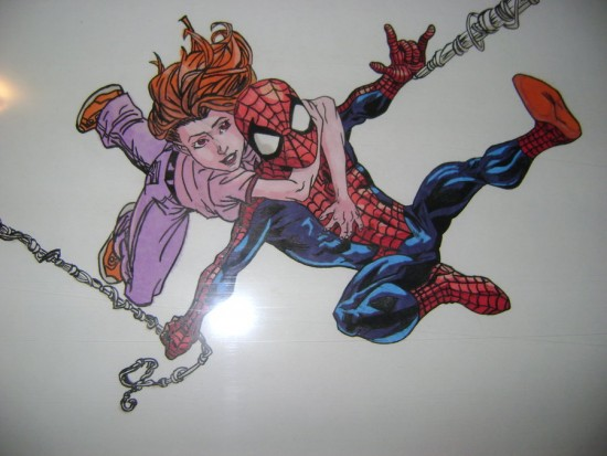Spider-man & Kitty Pryde