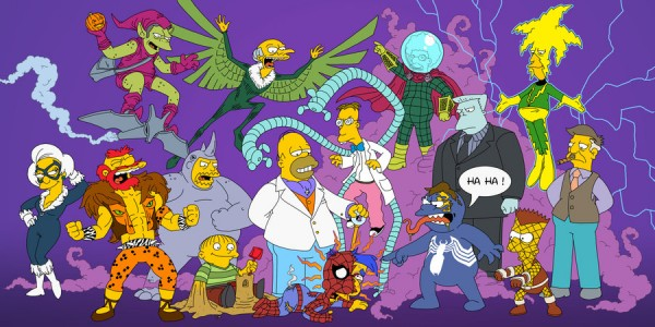 Spiderman Simpsons