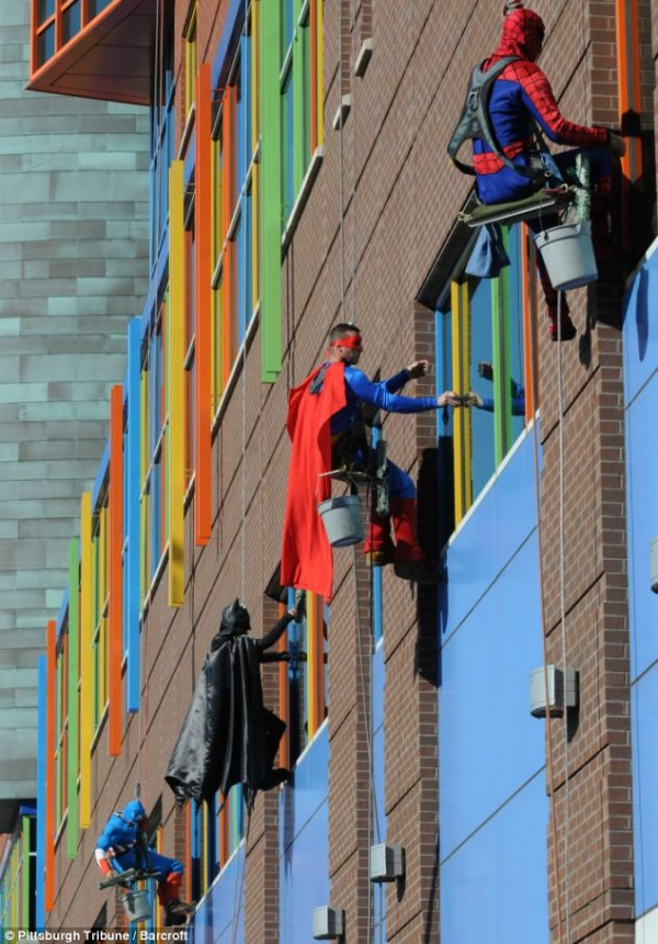 Superheroes Windows