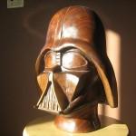Walnut Darth Vader Helmet 3