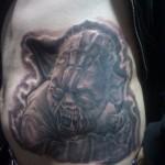 Zombie Yoda Tattoo