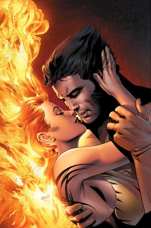jean Grey & Wolverine