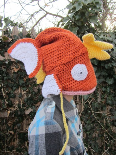 magikarp crochet hat by Savannah Mitchell image 1