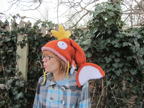 magikarp crochet hat by Savannah Mitchell image 2