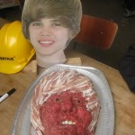 Bieber is Scary as food