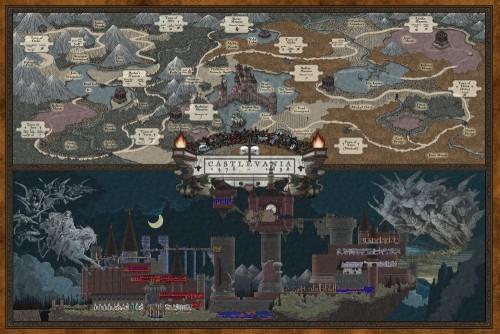 Castlevania map by Bill Mudron image 1