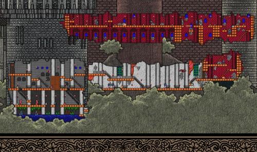 Castlevania map by Bill Mudron image 3