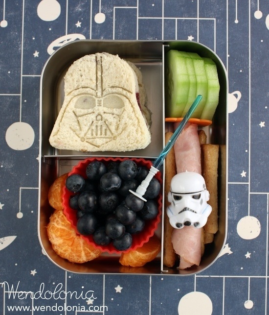 Darth Vader Sandwich