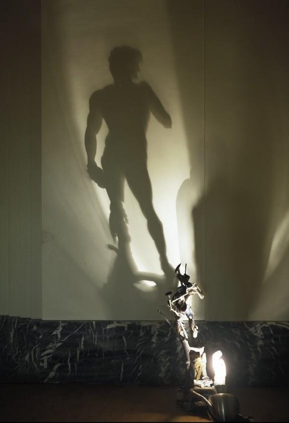 David Shadow Sculpture