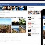 Facebook redesign image