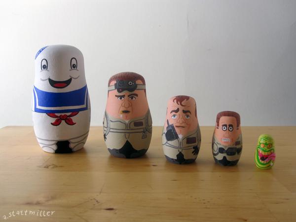 Ghostbusters Nesting Dolls