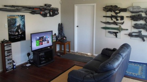 Halo game room by Andrew Cook image