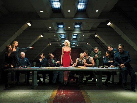 Independence Day-Colonial Day - Battlestar Galactica
