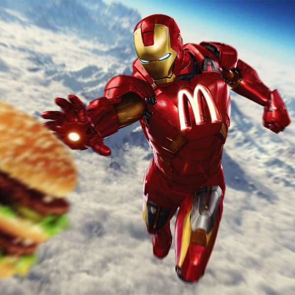 Ironman McDonalds