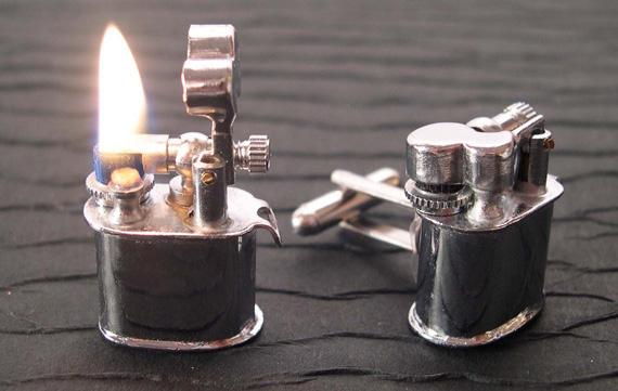 Lighter Cufflinks