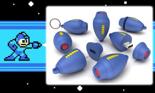 Mega Man Mega Buster 8GB USB drive image