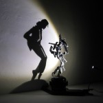 Michael Jackson Shadow Sculpture