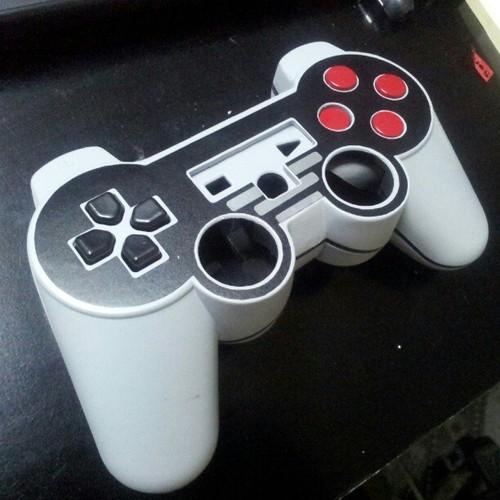 NES DualShock 3 in progress mod by Javier Riquelme
