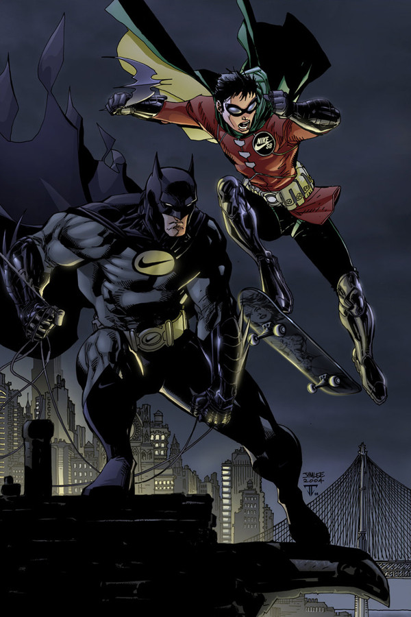 Nike Batman & Robin