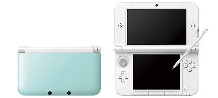 Nintendo Mint White 3DS XL image